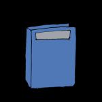 青いファイル