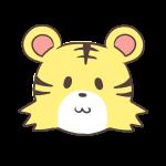 微笑むトラ