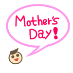 「Mother'sday」のフキダシ