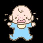 泣く赤ちゃん(男の子)