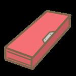 筆箱(赤)