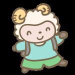 羊の小学生(男の子)