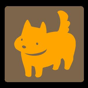 犬(オレンジ×茶)