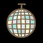 ミラーボール(ブルー系)