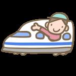 新幹線で旅行
