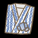 旅館の浴衣