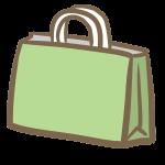 お土産(緑の紙袋)
