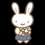 ウサギの卒業生(ブレザー)