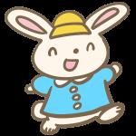 ウサギの園児