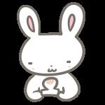 ウサギと焼き餅