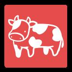 牛のはんこ(四角)