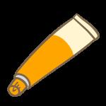 塗り薬(オレンジ)