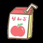 紙パック飲料(りんご)