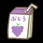 紙パック飲料(ぶどう)