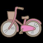 自転車(ピンク)
