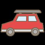 乗用車(赤)