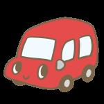 カワイイ車(赤)