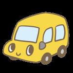 カワイイ車(黄)