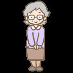 おばあちゃん(メガネ)