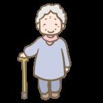 年老いたおばあちゃん