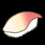 ホッキ貝の握り寿司