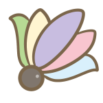 丸羽根(淡色)