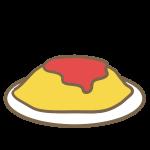 オムライス(ケチャップ)