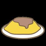 オムライス(デミグラス)
