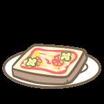ピザトースト