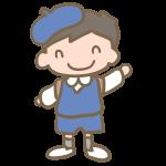 制服の園児(男の子)