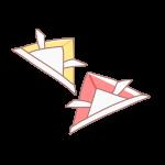 折り紙の兜