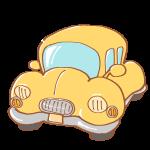黄色くて丸い車