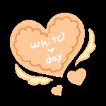 羽ハートクッキー