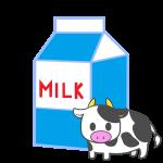 ミルクと牛