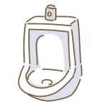 男子トイレ