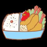 エビフライのお弁当