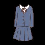 丸襟の制服