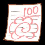 百点満点のテスト