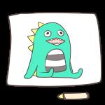 恐竜の絵2