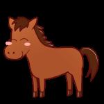馬(笑顔)
