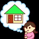 引っ越しを考える女性