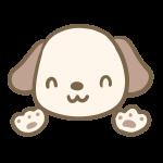 耳が茶色い犬