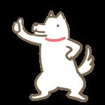 イイネ!する犬