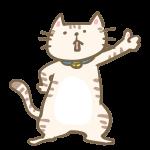 イイネ!をする猫