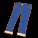 紺色のジーパン