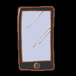 シンプルなスマートフォン