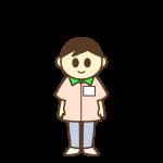 コンビニ店員(男性)