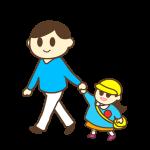 パパと幼稚園へ・パパのお迎え(女の子)
