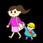 ママと幼稚園へ・ママのお迎え(男の子)
