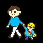 パパと幼稚園へ・パパのお迎え(男の子)
